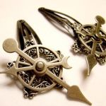 Lolita Dieselpunk Hair Clips by SteamSociety