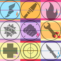 MLP TF2 Character Tiles by RuBoo