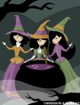 We Witches Three by MeghanMurphy