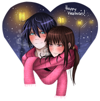 Valentines Day Yatori by Dracilla112