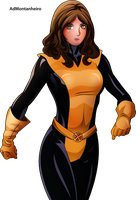 Kitty Pryde by AdMontanheiro
