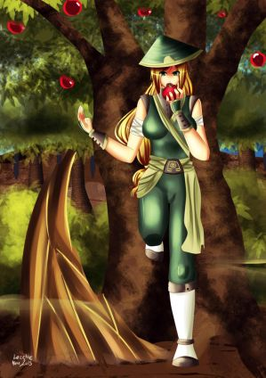 Earthbender Applejack by Lezzette