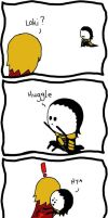Huggle...? by IsleOfTwoMoons