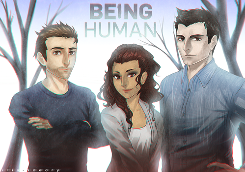 BEING HUMAN by Iris-icecry