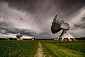 broadcasting station Raisting3 by mutrus