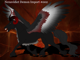 Nenavidiet Demon Import #002 by Taz123321