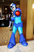 Megaman X Cosplay by TheNin10dork