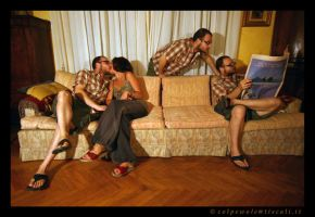 Sofa People by colpewole