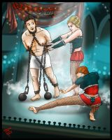 Life Is A Circus - Tickling Houdini by Fantasy-Play