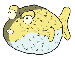 Day 21 Puffer Fish by Asmodeus317