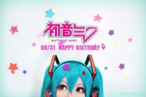 Hatsune Miku  Happy Birthday ! by MM-yam