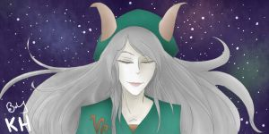 Lady Capricorn by roppiepop