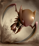 Kabutops Again by Epifex