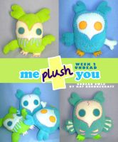 Me Plush You Week 2 UNDEAD by fuish