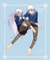 Jack and Jacqueline Frost by XnotamorningirlX