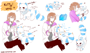 UT Reload and kitty sans by keary