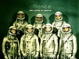 alliance - we come in peace by carbalhax