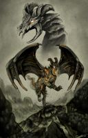 Catastrophic Dragon:Earthquake by CharReed