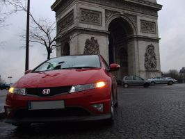 My type S in paris 5 by Tay-GSi