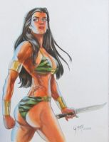 AC Comics' Tara the Jungle Girl by cbgorby