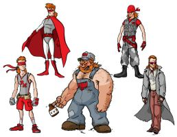 Red Mullet costume ideas by andrewchandler80