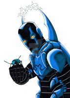 Blue Beetle sketch by kentarcher