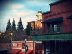 Old Auburn Court House by Moose-Art