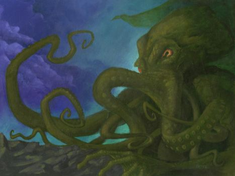 Cthulhu Rising by diethyloxide