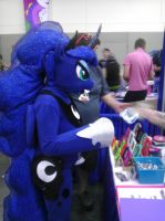 Luna at Bronycon! by Katmomma