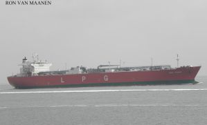 South Korean LPG tanker Gasfriend 2005- by roodbaard1958