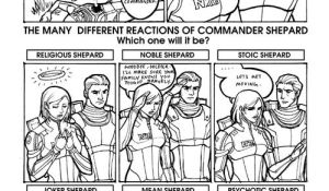 Reactions of Shepard -SPOILER- by aimo