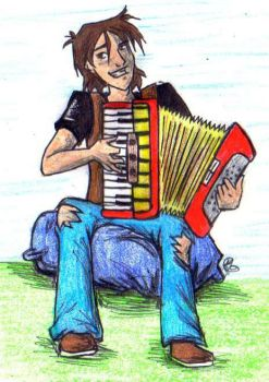 Master of the Accordian by Valoofle