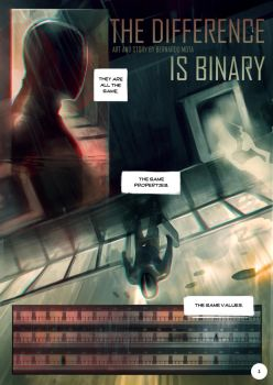 The Difference is Binary page 1/4 by bemota