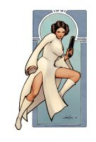 Princess Leia by samwyse