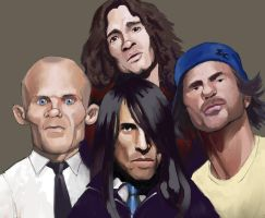Red Hot Chili Peppers by Garrenh