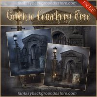 Gothic Cemetery Free by moonchild-lj-stock