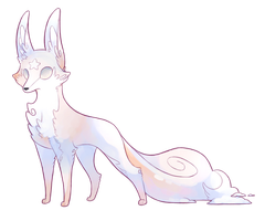 Elles Familiar Adoptable by p-o-c-k-e-t
