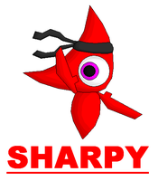 CONTEST Sharpy The Red Sharps by blase005