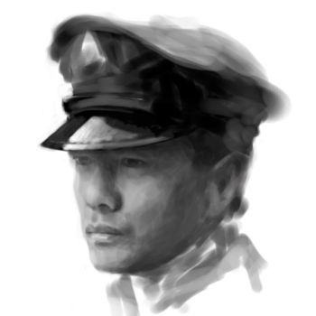 Yihong  sketch 1st try by psychyginger