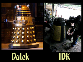 Dalek? You decide. by EmonyJade