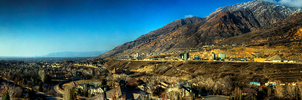 Above Old Mill Panoramic by Torqie
