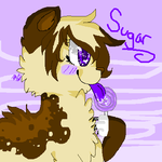 Sugar has sparkly eyes by G0LDSTAR