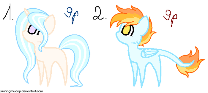 MLP: PONY ADOPT! [CLOSED] by SwirlingMelody