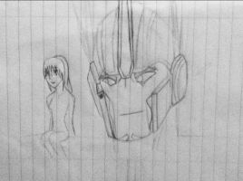 Optimus and me (WIP) by Lil-9