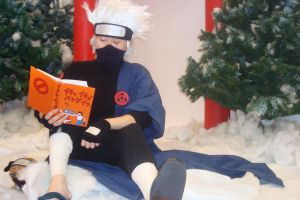 Kakashi in the Snow by bookadict