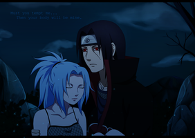 Miku and Itachi by S-I-M-C-A