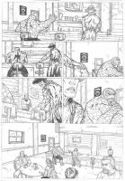 The Thing Marvel Sample Pag 2 by IgorChakal