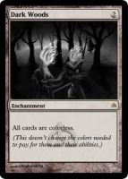 MtG: Dark Woods by Overlord-J