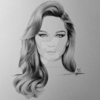 Jennifer Lawrence by FromPencil2Paper