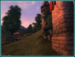 Behind the Walls of Skingrad by Scuria